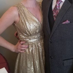 Gorgeous Eva Mendes party dress